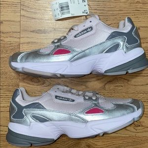 ADIDAS Originals Falcon Sneakers Size 7 New Boost